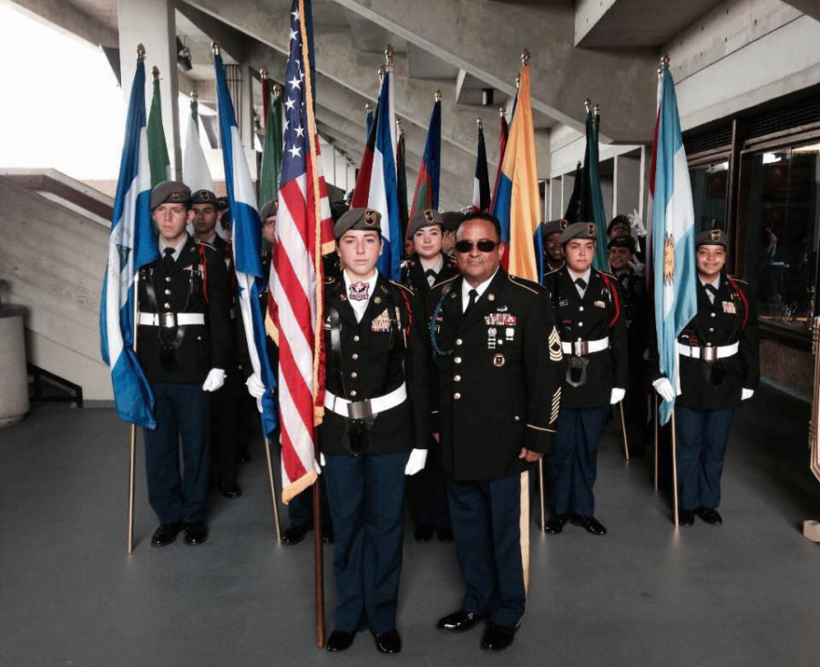 JROTC is an program at Gables that you can join. It consists of three teams: Drill, Raider and Color guard.
