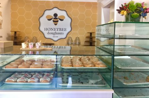 Honeybee Doughnuts is a gourmet doughnut shop in the middle of South Miami.