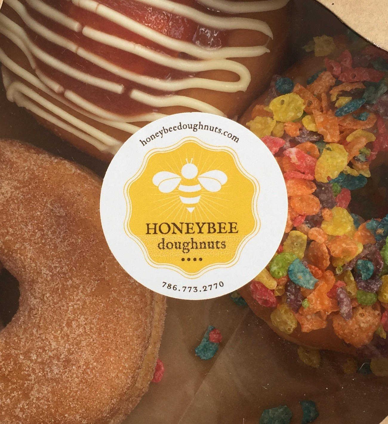 Honeybee Doughnuts is offering their take on the classic doughnut with unique flavors.