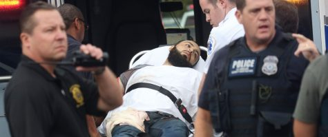 Suspect Ahmad Khan Rahami after being injured and captured by police