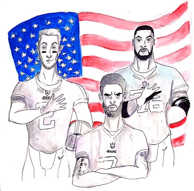Kaepernick%27s+actions+sparked+outrage+across+the+nation.