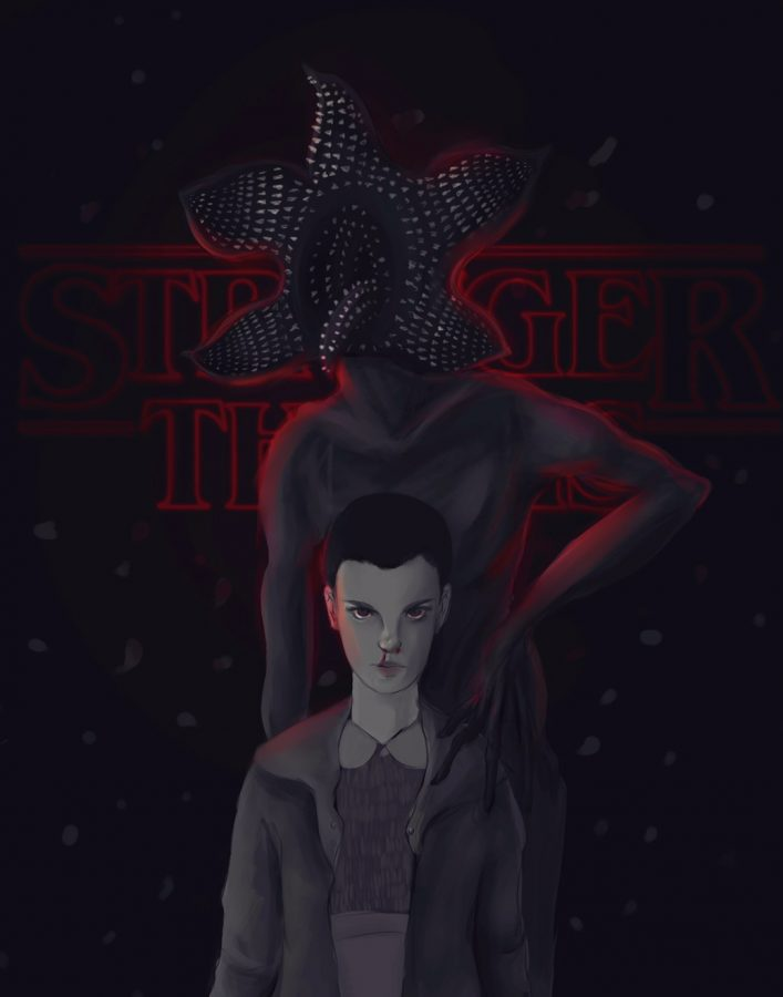Stranger+Things+has+quickly+become+a+popular+Netflix+original.