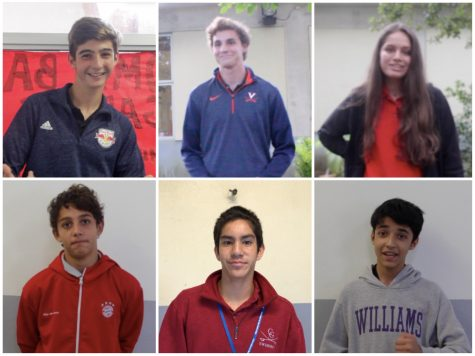 Meet the six candidates running for the Class of 2020 board.