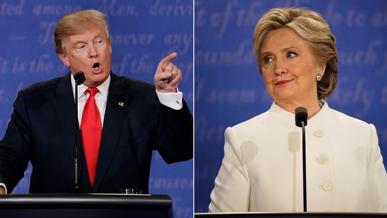 Clinton and Trump face off one final time before Nov. 8.