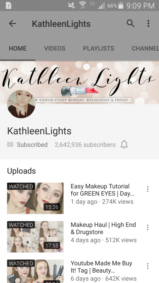 If you subscribe to KathleenLights you can expect new videos every Monday, Wednesday, and Friday.