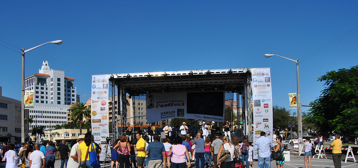 The Gables Hispanic Cultural Festival is a great way to enjoy the weekend.