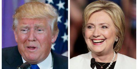 Ultimo encuentro entre Hillary Clinton y Donald Trump.