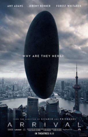 This is the poster for the movie. It shows one of the alien ships that lands on Earth.