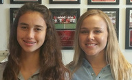 Amy Ransom and Hannah Evans are this week's athletes of the week.