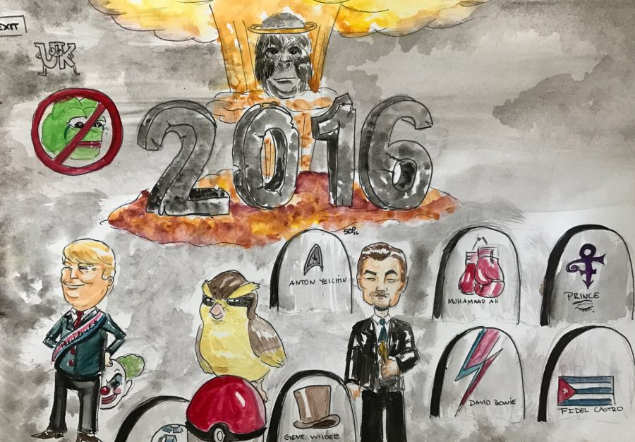 The year 2016 sure was an eventful one for good and for bad.