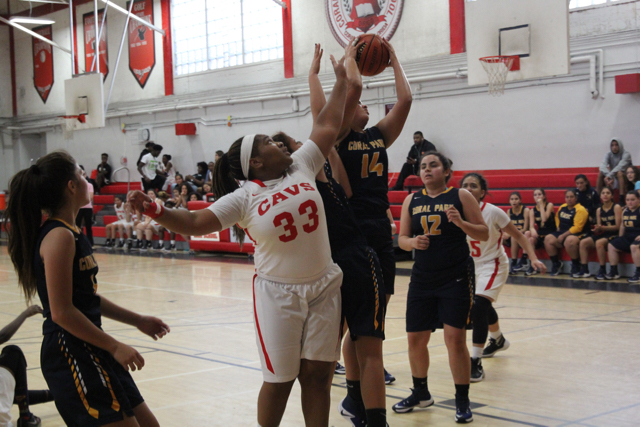 Lady Cavaliers Against Lady Rams
