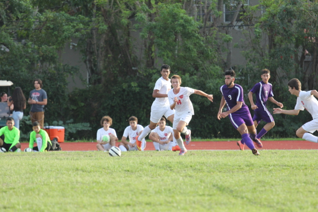 Boys Soccer Goes Up Against Southwest