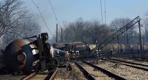 Explota un Tren de Carga en Bulgaria