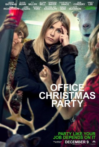 This is one of the posters for the movie. It depicts Carol's disappointment at the party.