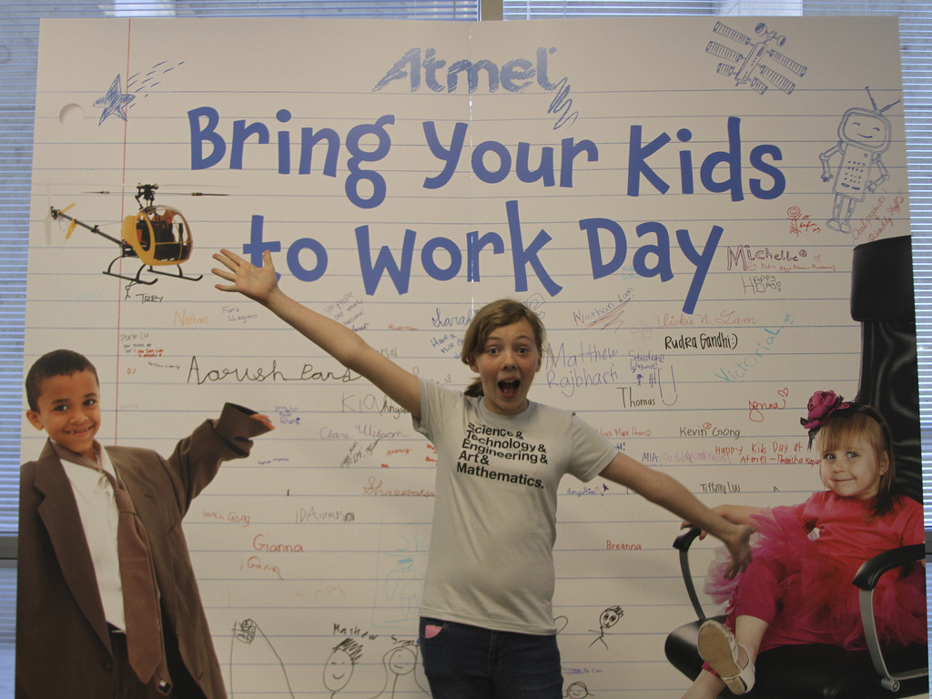 Print this form in order to participate in Take Your Child to Work Day.