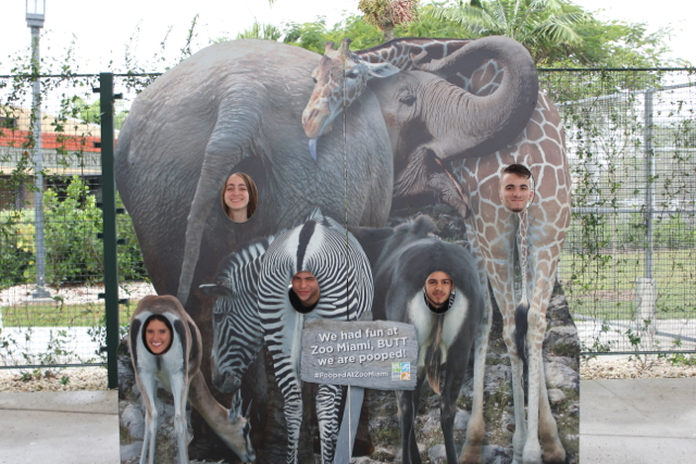 CAF&DM Students Take On Zoo Miami
