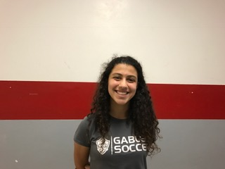 This week's athlete of the week is freshman, Juliana Bonavita for her success in the game against Palmetto.