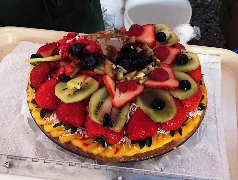 Vegan+fruit+pie+available+at+the+Coconut+Grove+Farmers%27+Market.