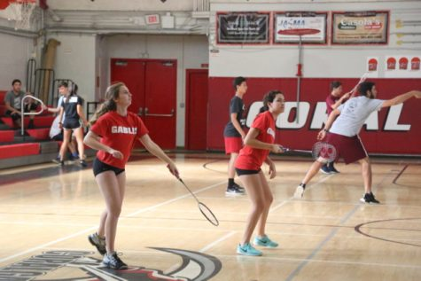 Badminton Faces off Against Miami Springs