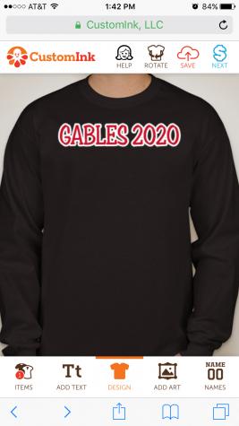 Class of 2020: Class Shirt Form
