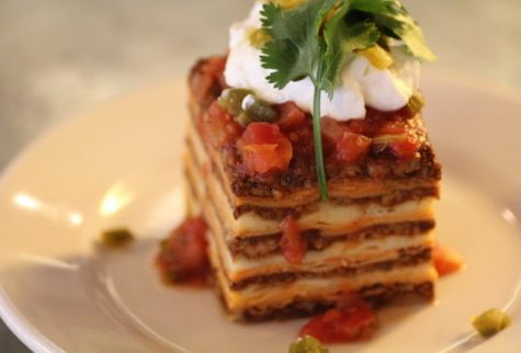 Nacho average lasagna