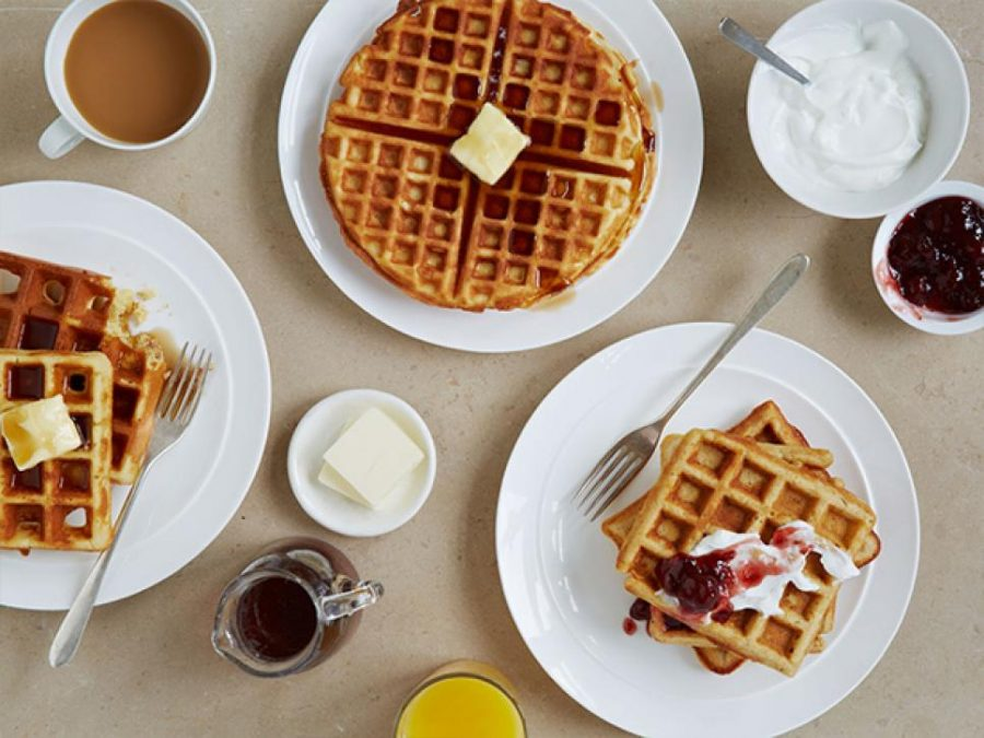 Ditch the panini press and start using a waffle maker!