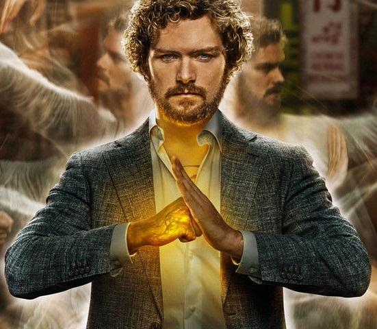Iron Fist is seen using his superpowered fist which allows him to break through almost everything.