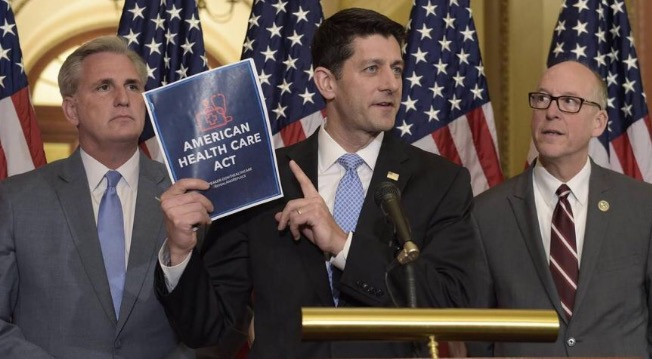 House Republicans introduce a bill to repeal and replace Obama's Affordable Care Act.