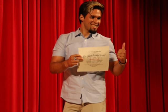 Outstanding Students Accept Prestigious Elsa Glazer Award