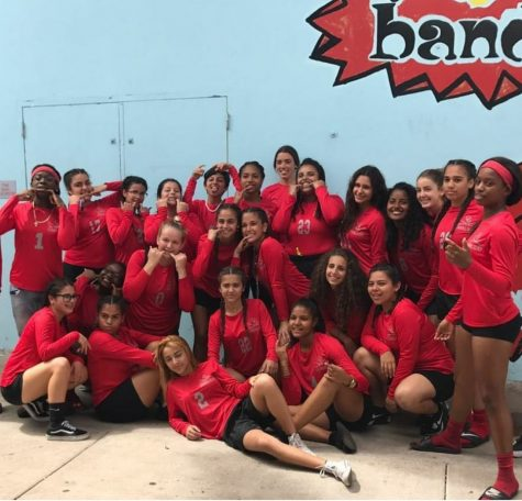 Cavaliers Lady Flag Football Team Defeats Mater Academy