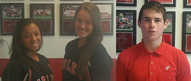 This week's athletes of the week are Aliana Bonilla, Natalie Regalado and Cavan Wilson.