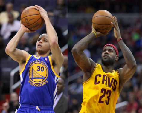 Lebron James and Steph Curry will most likely face of against each other in the NBA Finals.