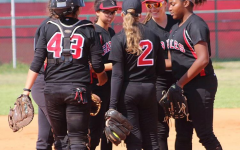 Lady Cavalier Softball Team Playoff Against American
