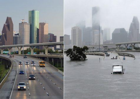 Houston Antes y Después de Harvey