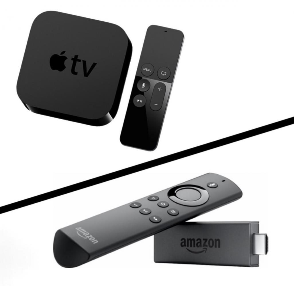 The Apple TV and Amazon Fire Stick are two of the most popular digital media players.