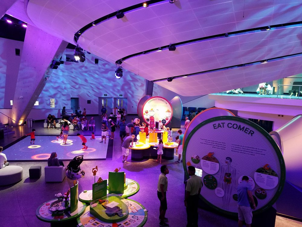 The Frost Museum of Science hosts a variety of awe-inspiring exhibits.