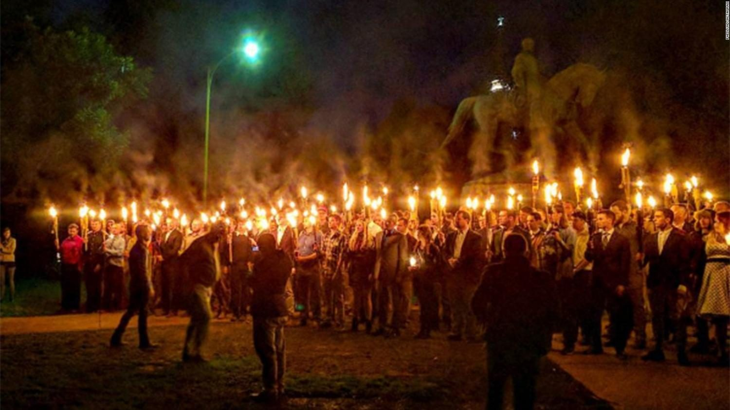 Protests get heated in Charlottesville