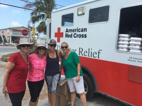 Gables teachers at the Florida Keys volunteering to help bring resources to the reisdents of the islands.