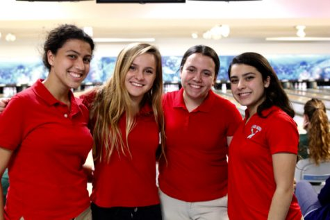 Gables Bowling Team Battles Terra