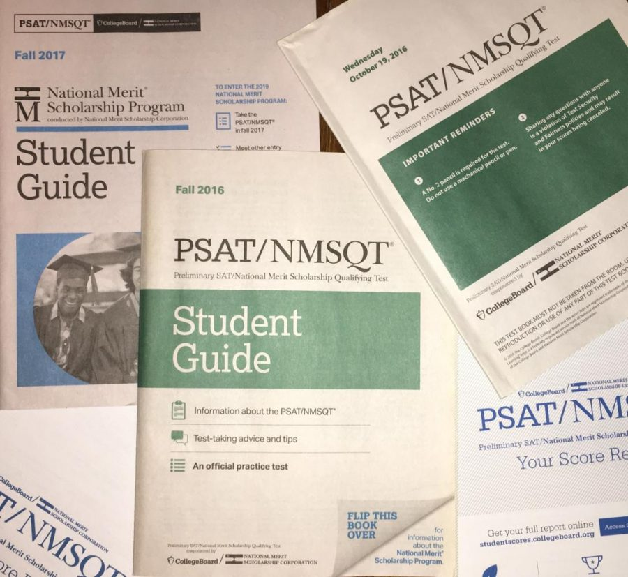 Students should take the opportunity of taking the PSAT their freshman year because it will help them in the future.