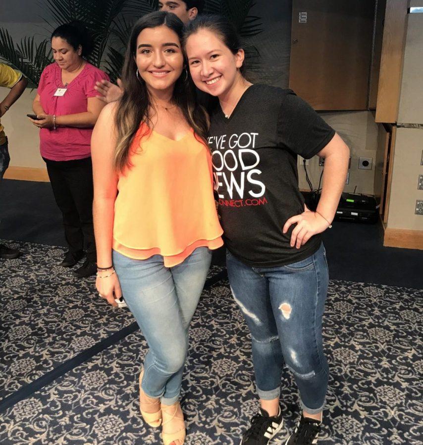 Maria F. Estrada and Giulana Restrepo are the new District 6 Representatives for FSPA 2018.