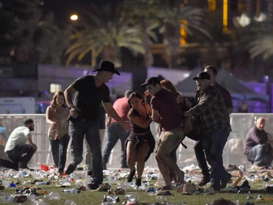 Momentos de terror después de los primeros disparos