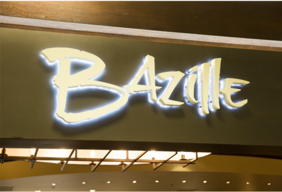 The+Bazille+restaurant+sign.