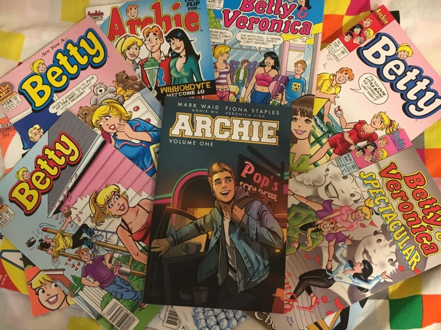 Evolution+of+Archie+Comics