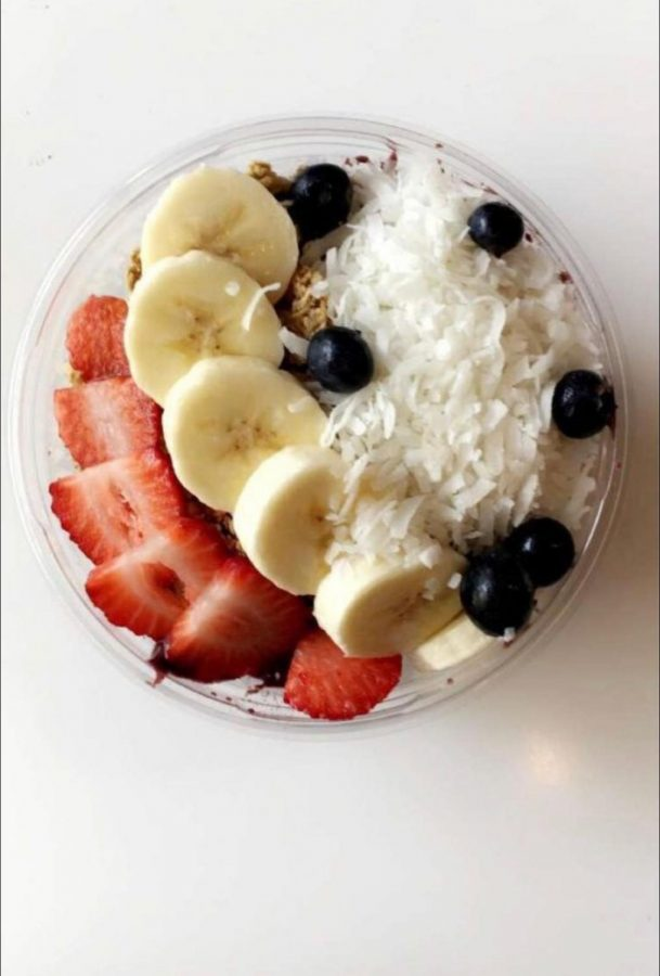 This is the OG Açai Bowl sold at GreenLife Bistro.