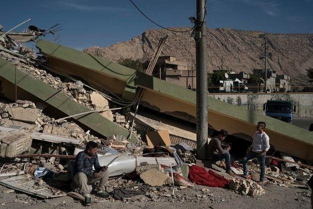 Suelos de Irán sacudidos por terremoto