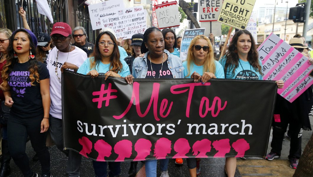 The Me Too movement was created to bring awareness to sexual violence.
