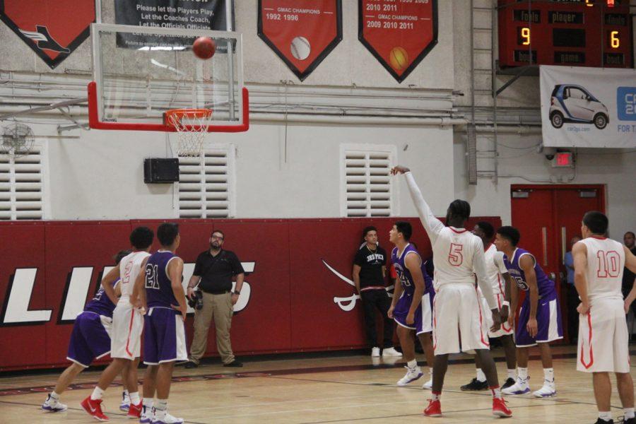 Cavalier Basketball Slam Dunks Southwest
