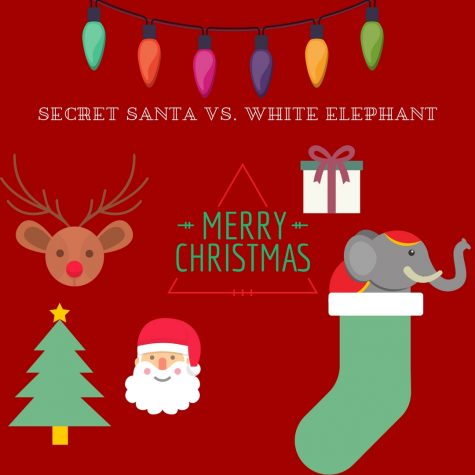Secret santa a fun festive activity Vs. White elephant a funny take on holiday gifts!