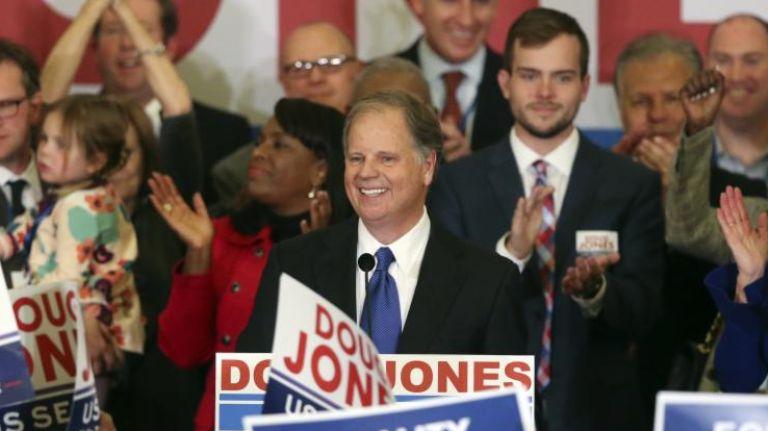 Democrat+Douglas+Jones+wins+Alabama+senate+seat.